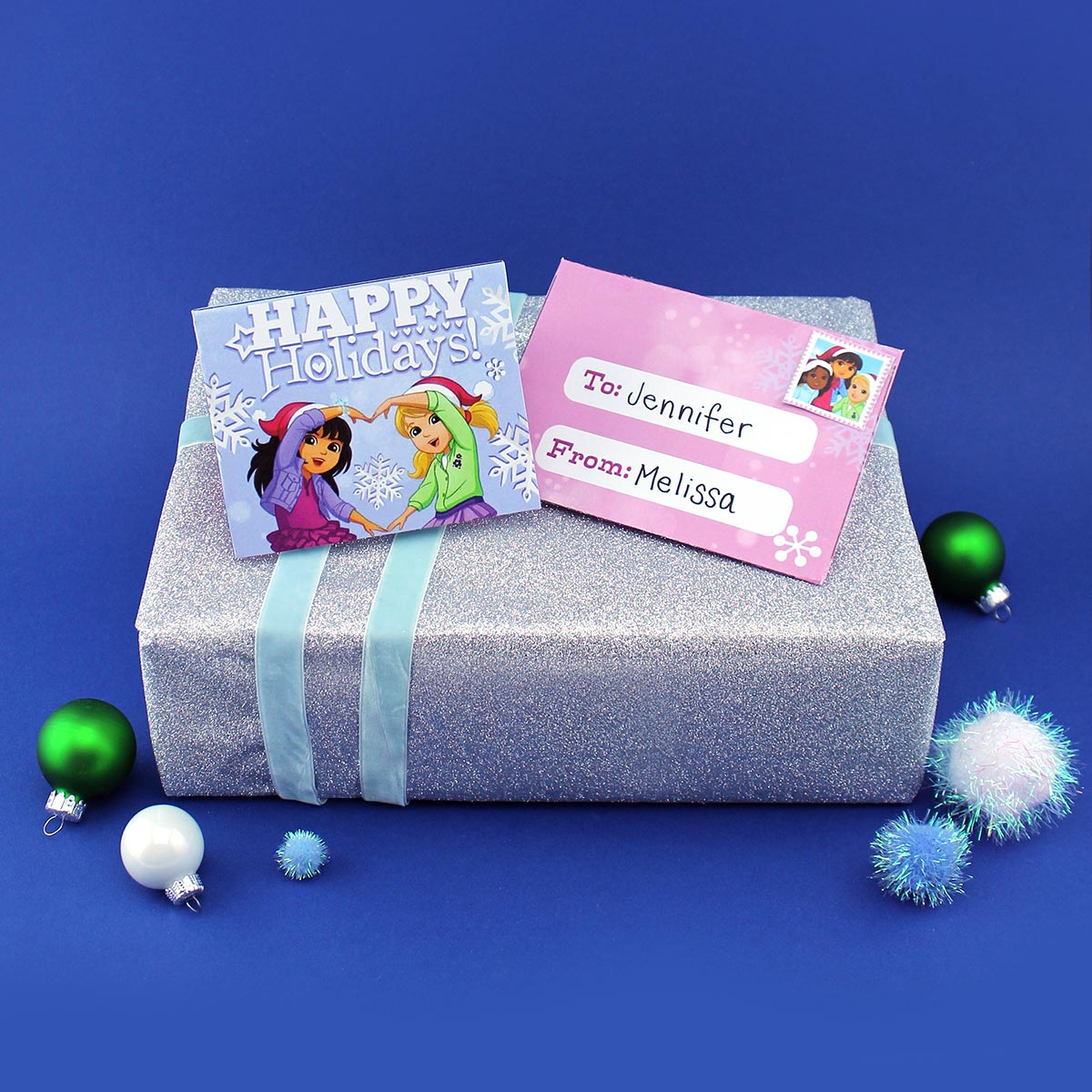 Dora and Friends Holiday Card Pack