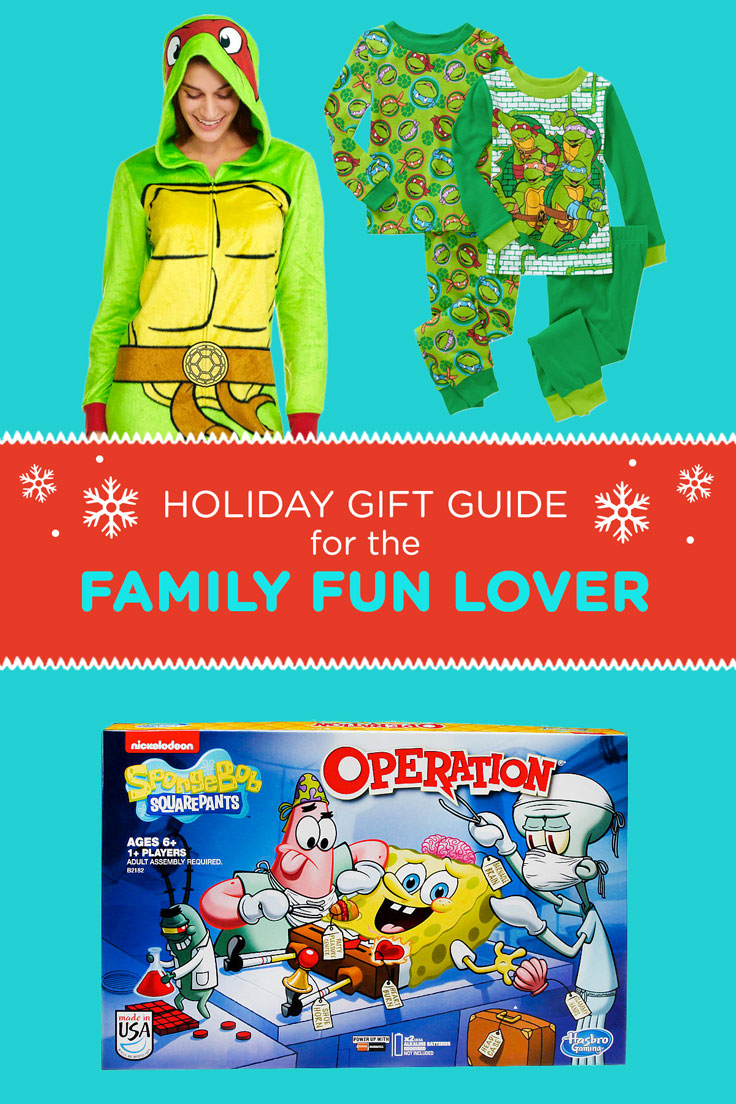 Gift Guide for the Family Fun Lover