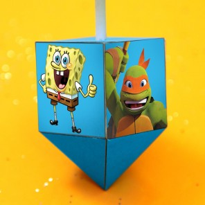 Nickelodeon Does Dreidel!