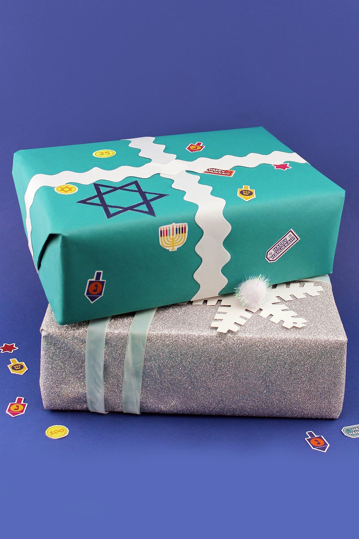 Nick Jr. Hanukkah Stickers
