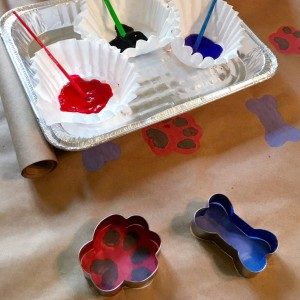 PAW Patrol Winter Rescue Cookie Cutter Wrapping Paper