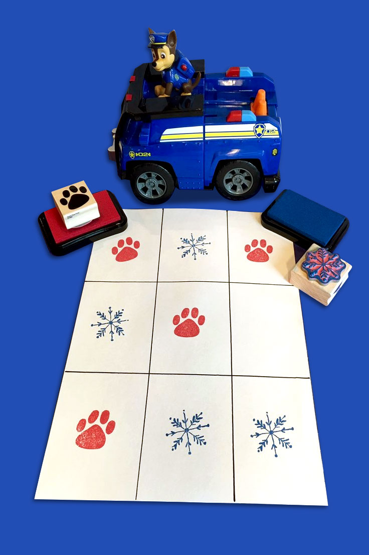 PAW Winter Tic Tac Toe