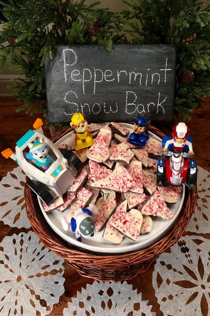 Peppermint Snow Bark