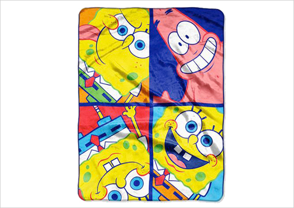SpongeBob Throw Blanket
