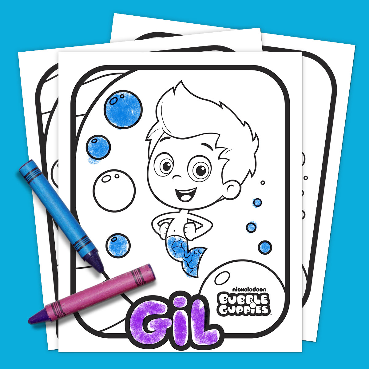 savesave to pinterest bubble guppies coloring pack