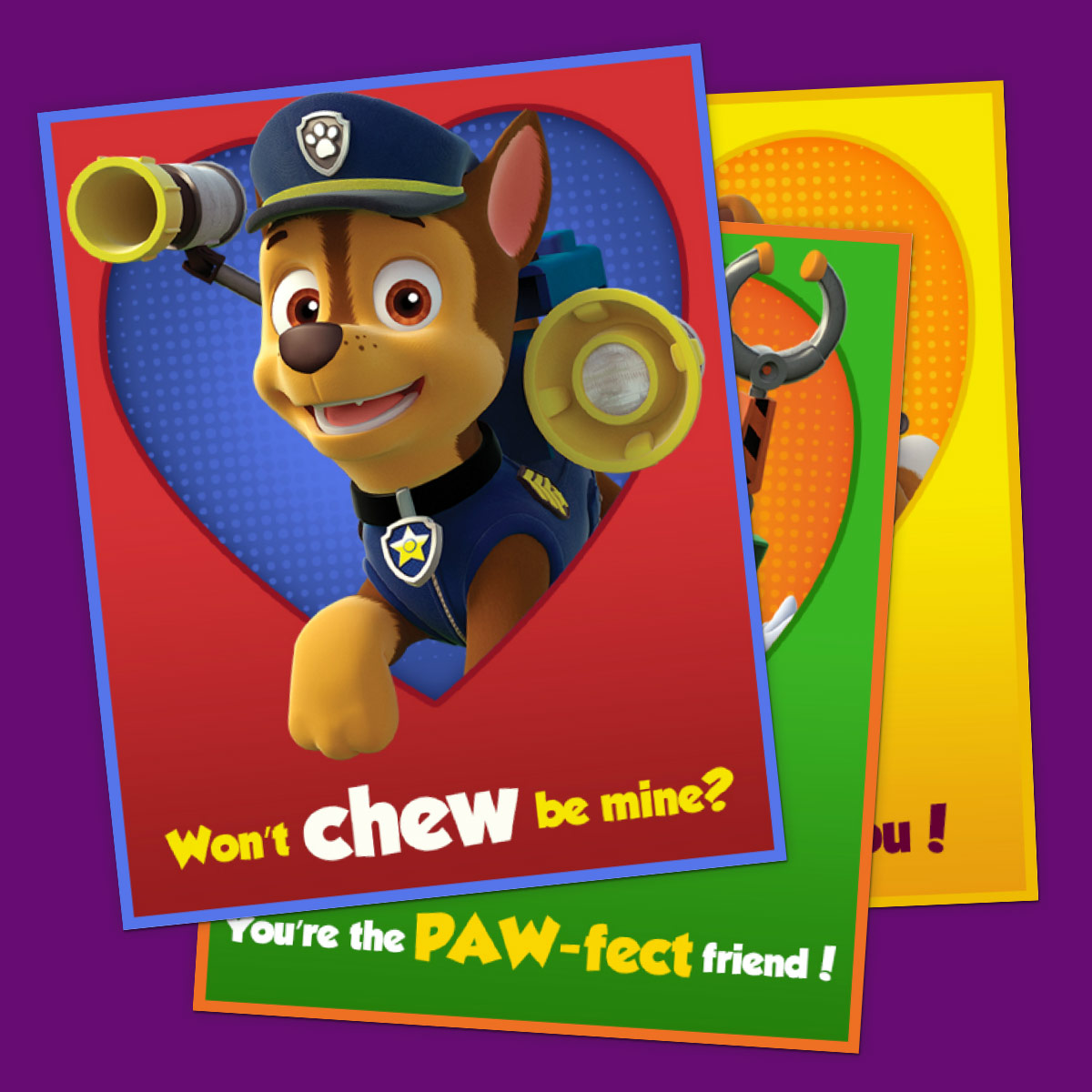 PAW Patrol Valentines