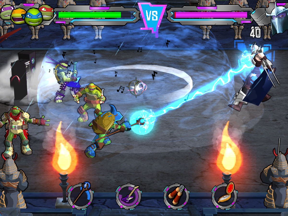 TMNT Portal Power Boss Battle