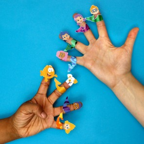 Bubble Guppies Finger Puppets