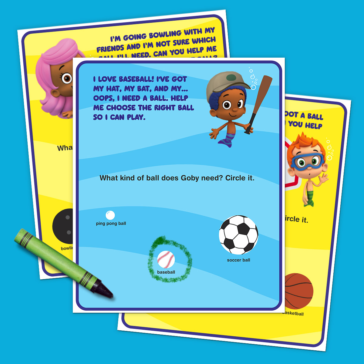 Bubble Guppies Sports Activity Pack
