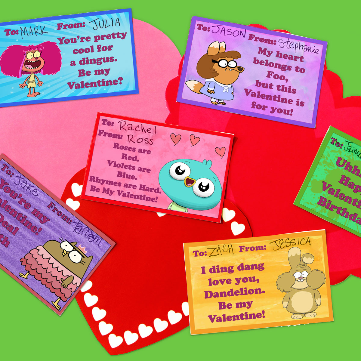 Harvey Beaks Valentines