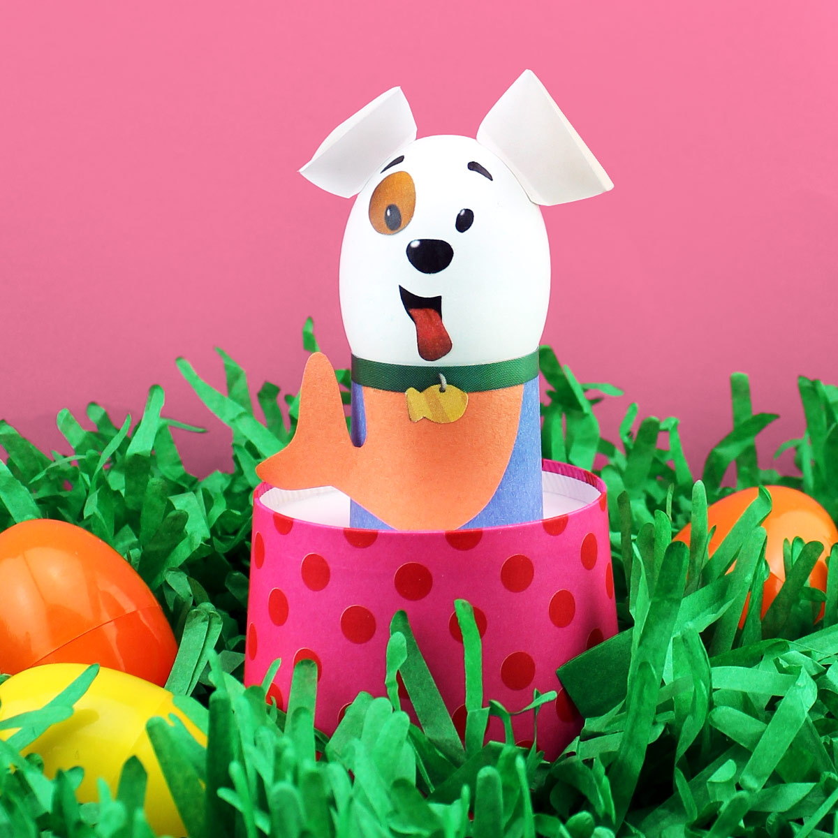 Bubble Puppy DIY Easter Egg