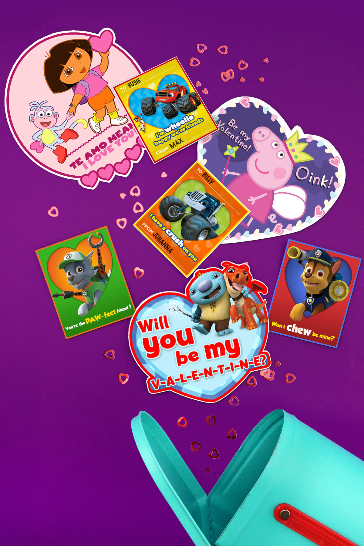 Nick Jr. Valentines