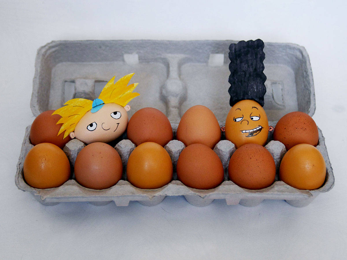 Arnold and Gerald Easter Eggs