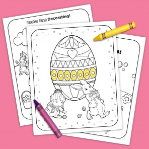 Easter Coloring and Activities