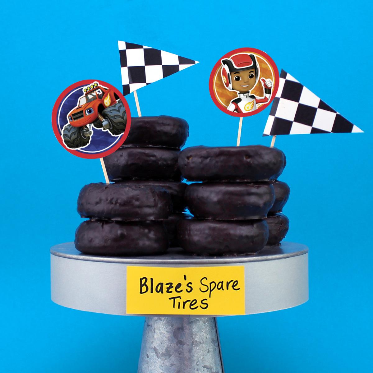 Blaze's Spare Tire Donuts
