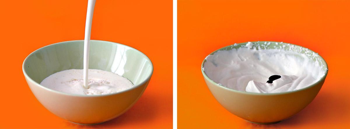 Nickelodeon Slime Cake steps 1-2