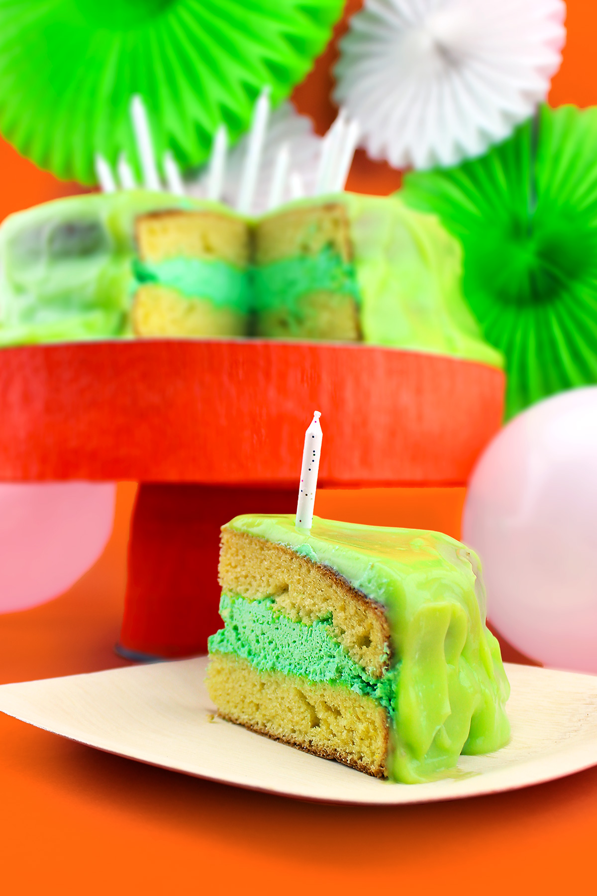 Nickelodeon Birthday Slime Cake