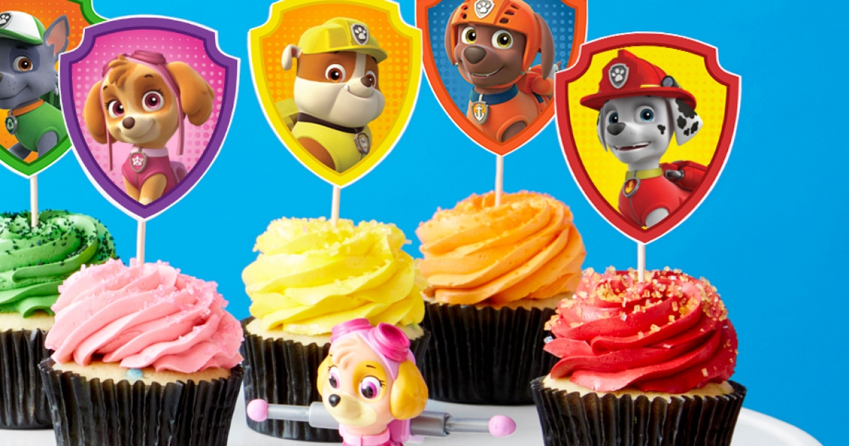 PAW Patrol Cupcake Toppers | Nickelodeon Parents