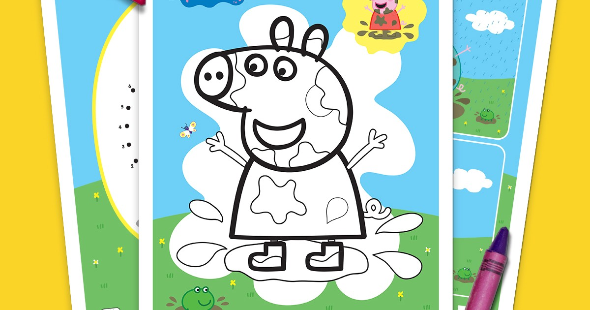 Peppa Pig Golden Boots Activity Pack | Nickelodeon Parents