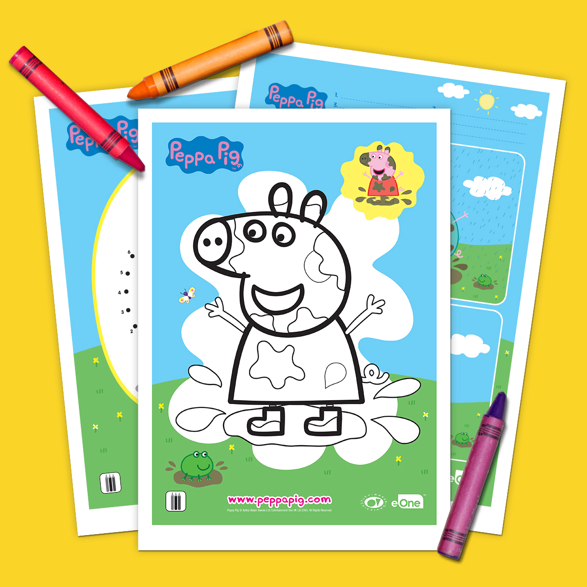 Peppa Free Printable Activity Pack