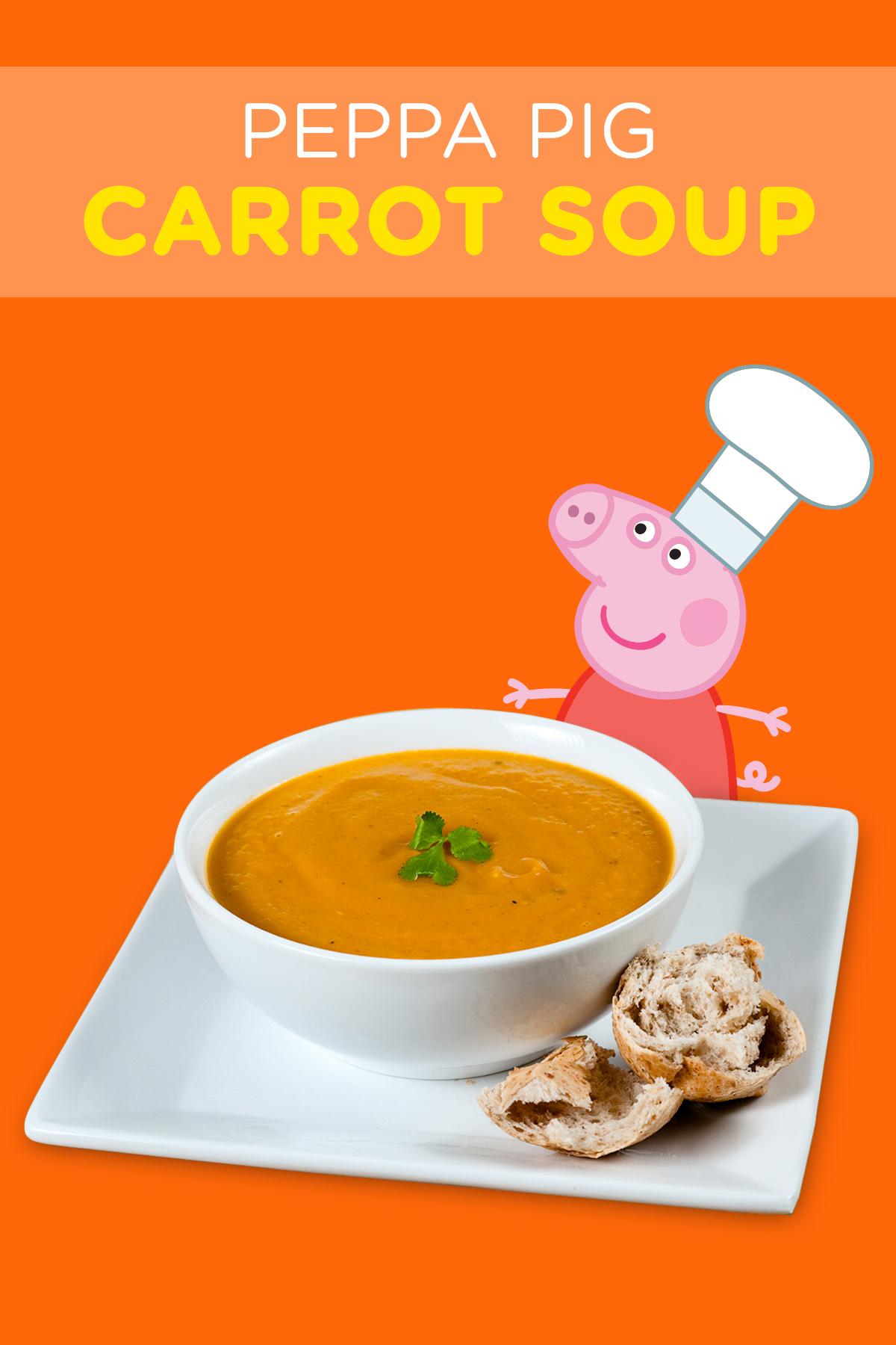 Peppa Pig Carrot Soup Recipe