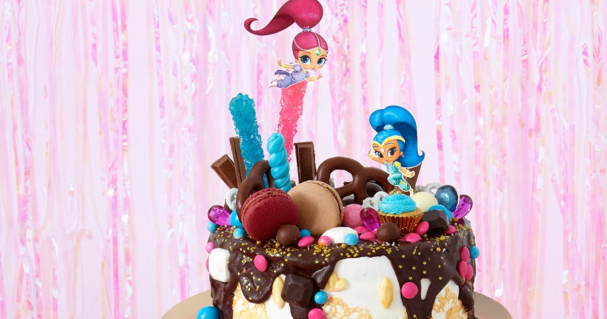 Shimmer And Shine Oopsie Birthday Cake Nickelodeon Parents