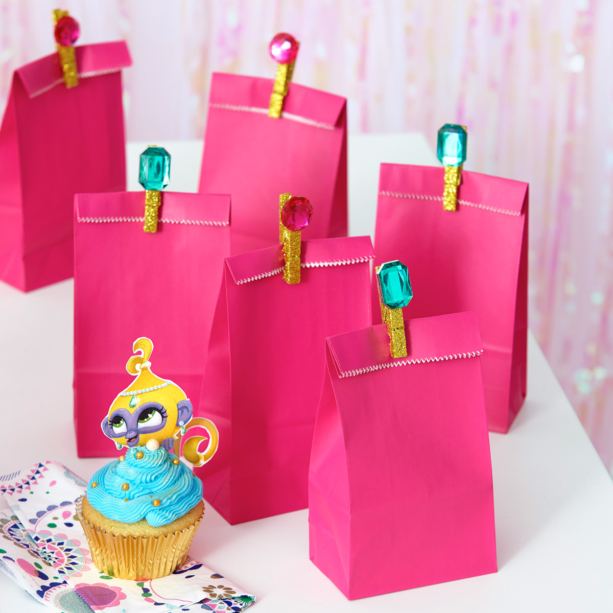 Shimmer and Shine Jewel Goody Bag Stoppers