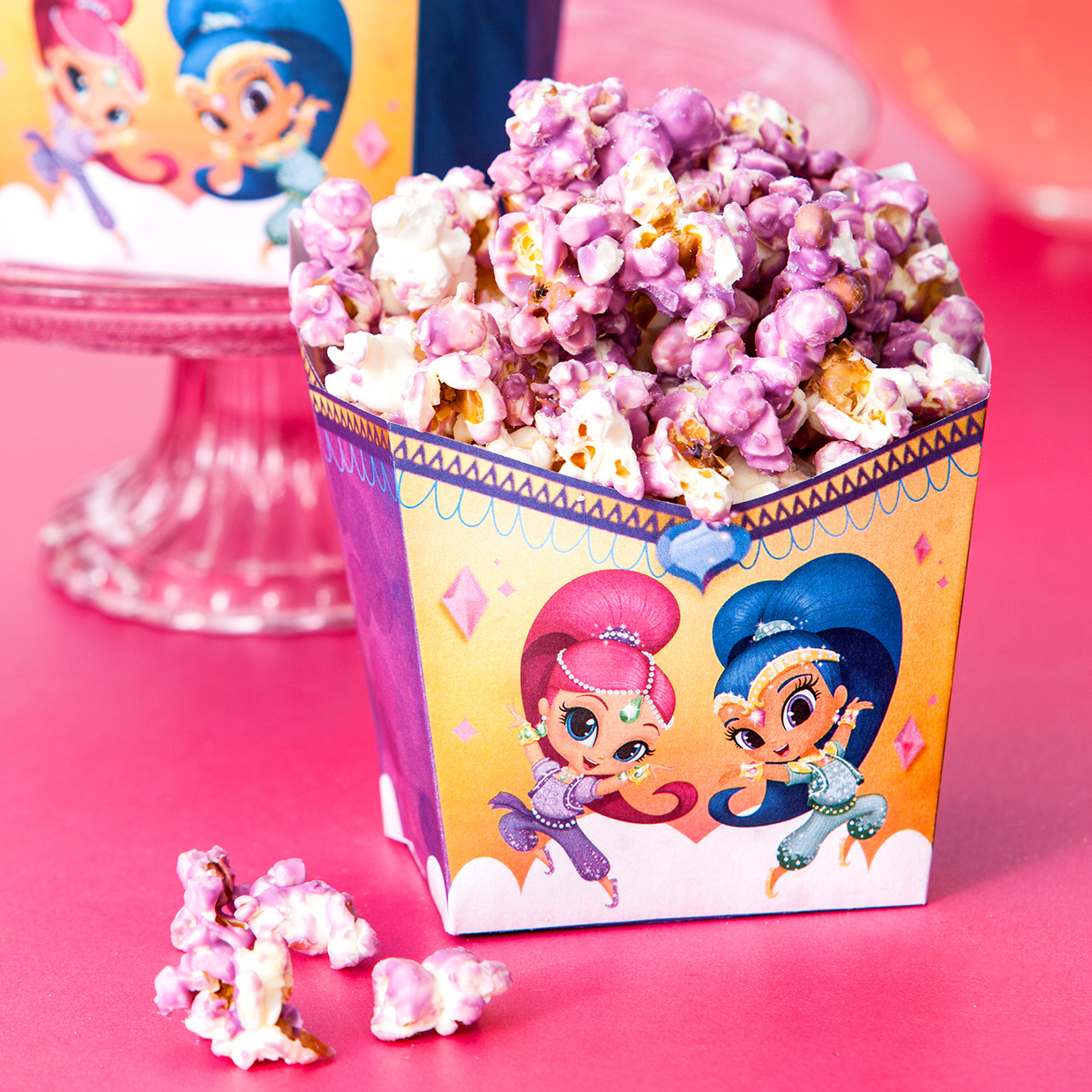 Shimmer and Shine Popcorn Holder