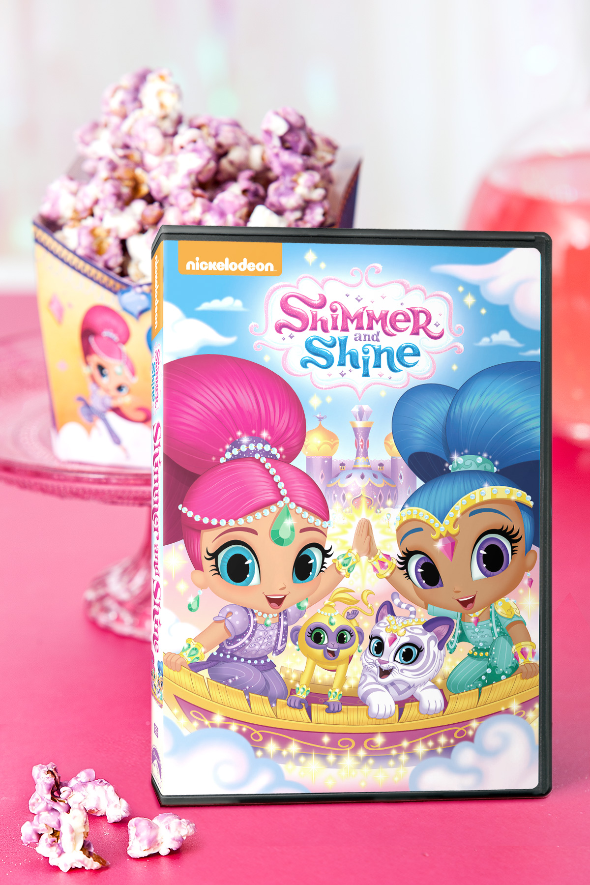 Shimmer and Shine Sleepover Party