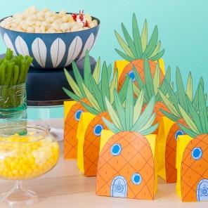 DIY Pineapple Party Packs!