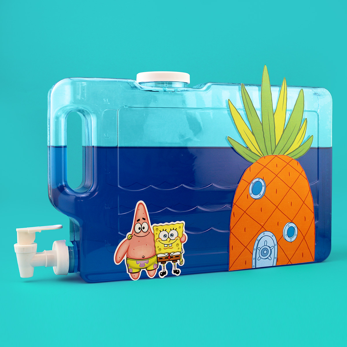 SpongeBob Squarepants Bikini Bottom Water Blue Drink