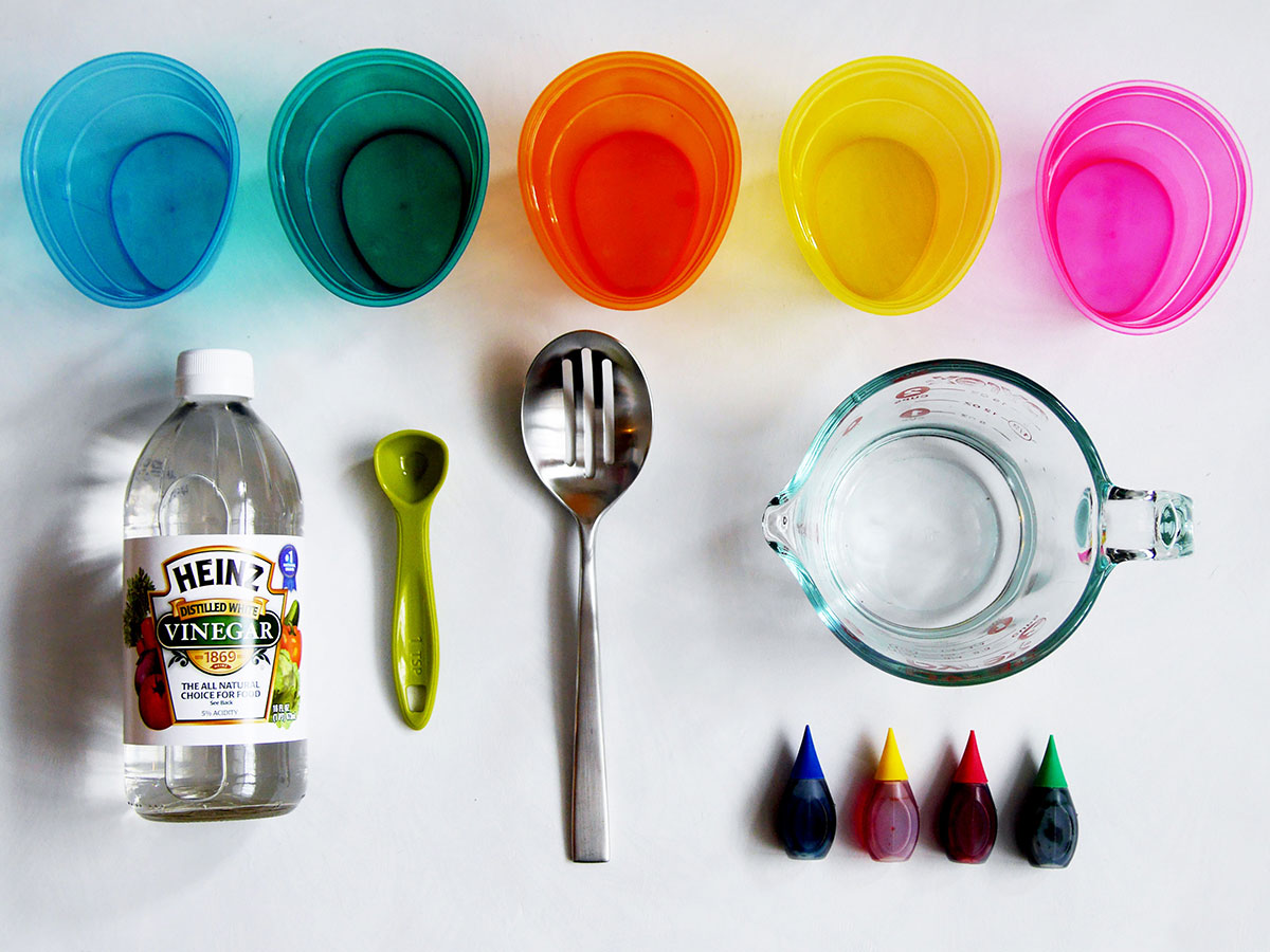 DIY Easter Egg Dye Supplies