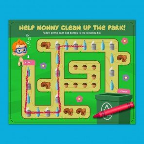 Park Clean-Up with Nonny!