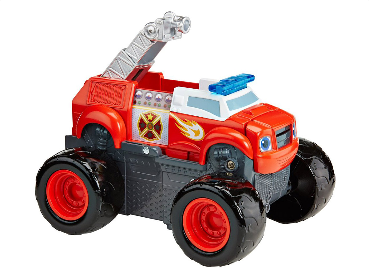 15 Birthday Gift Ideas for Preschoolers - Blaze Fire Truck