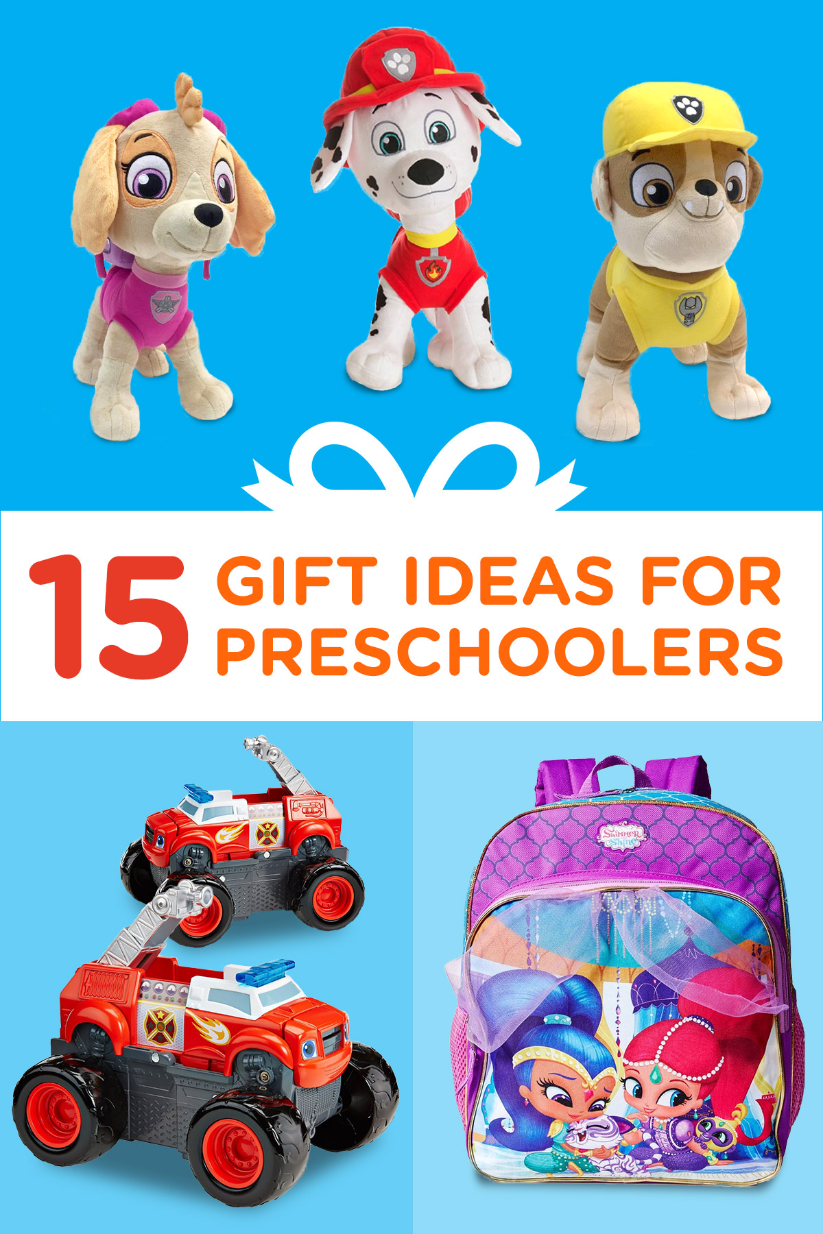 15 Birthday Gift Ideas for Preschoolers