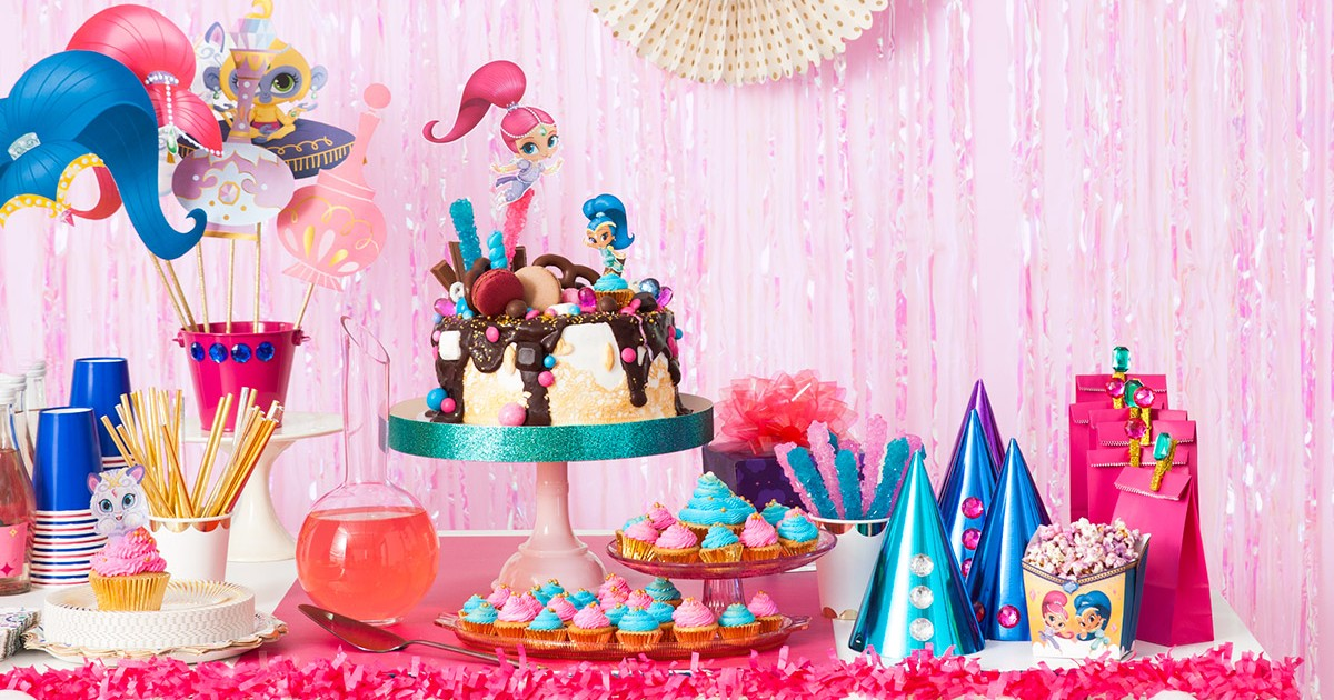 Plan A Shimmer And Shine Birthday Party Nickelodeon Parents - Childrens birthday parties orleans ontario