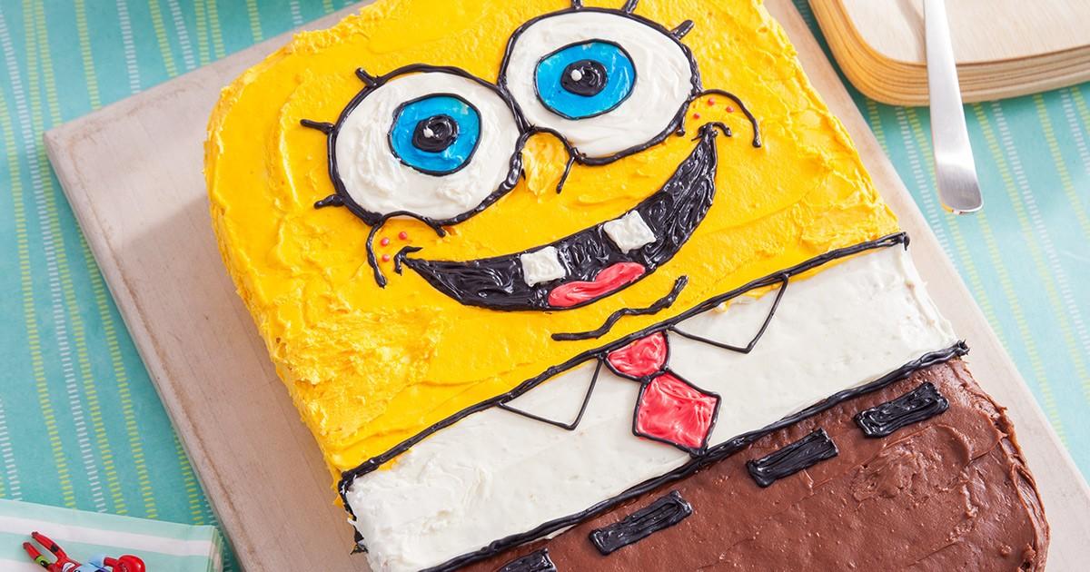 Spongebob Birthday Cake Recipe Nickelodeon Parents