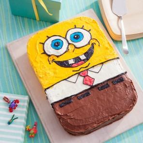 Bake a SpongeBob Cake!