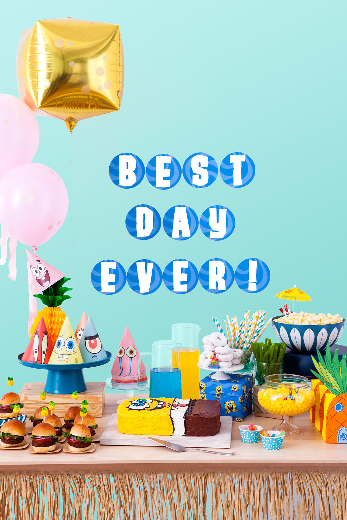 SaveSave To Pinterest SpongeBob Birthday Party Planner