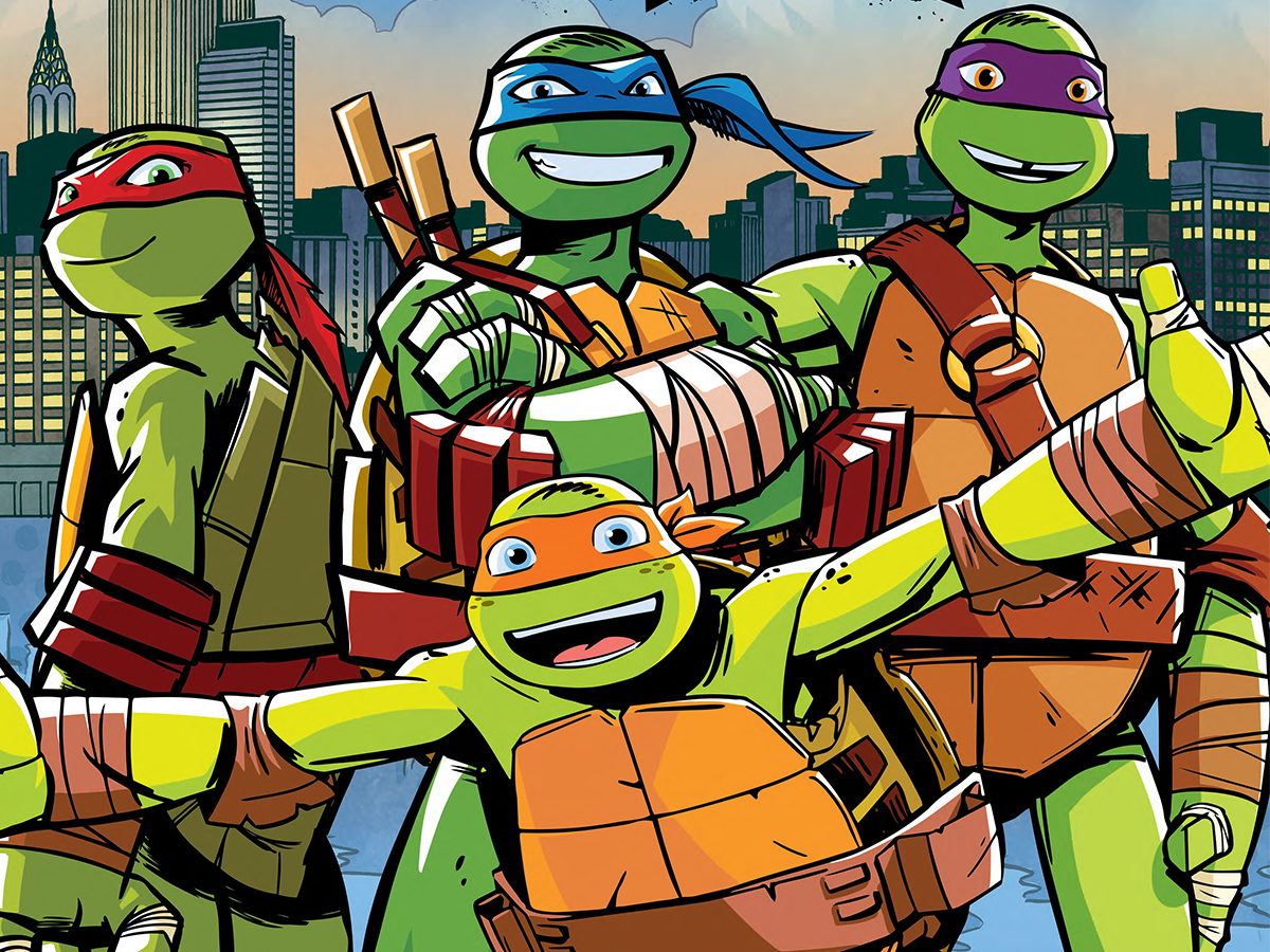 Nickelodeon Summer Travel: TMNT in NYC