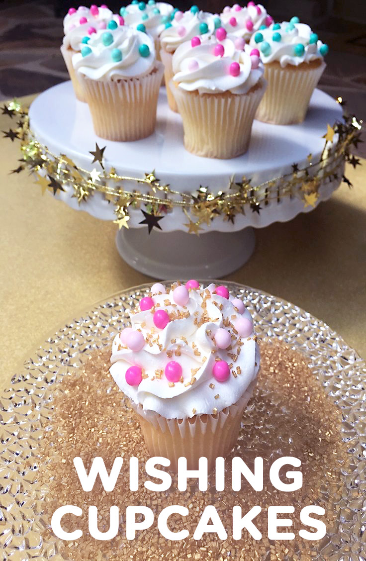Shimmer and Shine Wishing Cupcakes