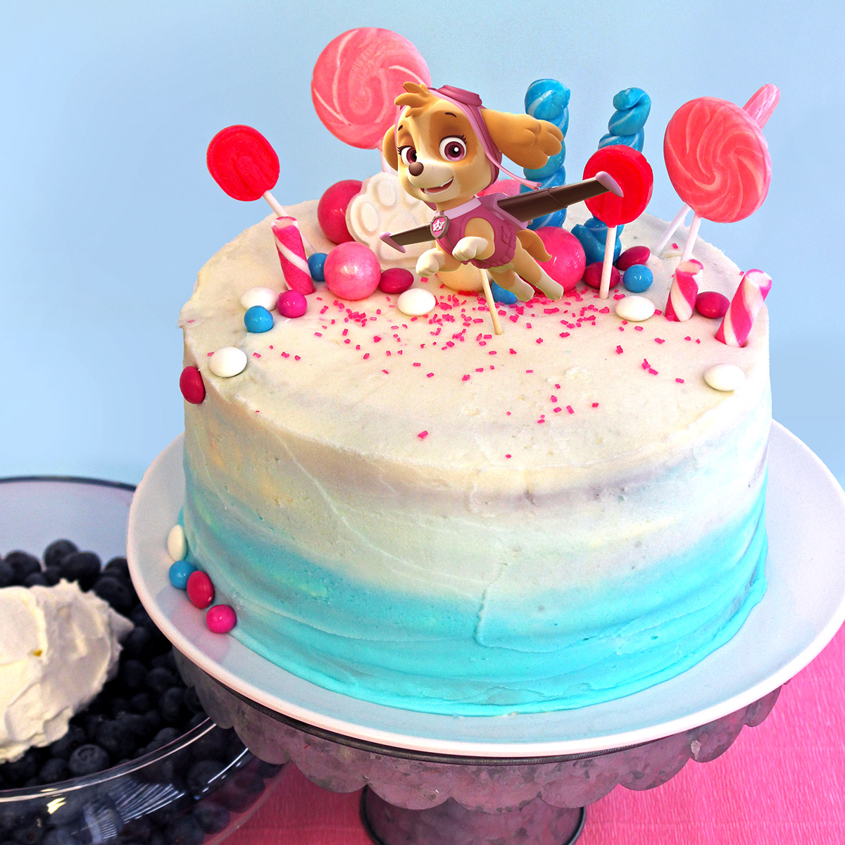 PAW Patrol Skye Birthday Party Cake Topper