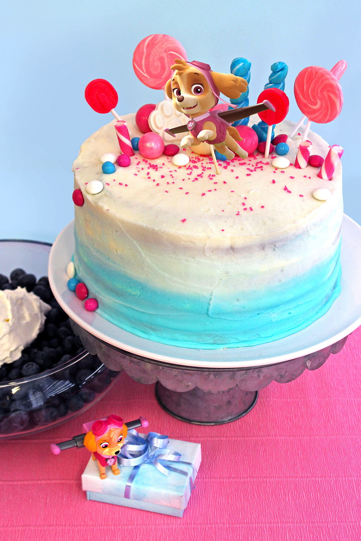PAW Patrol Skye Birthday Cake Topper | Nickelodeon Parents