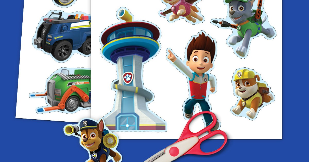 picture about Paw Patrol Printable called PAW Patrol Printable Stickers Nickelodeon Dad and mom