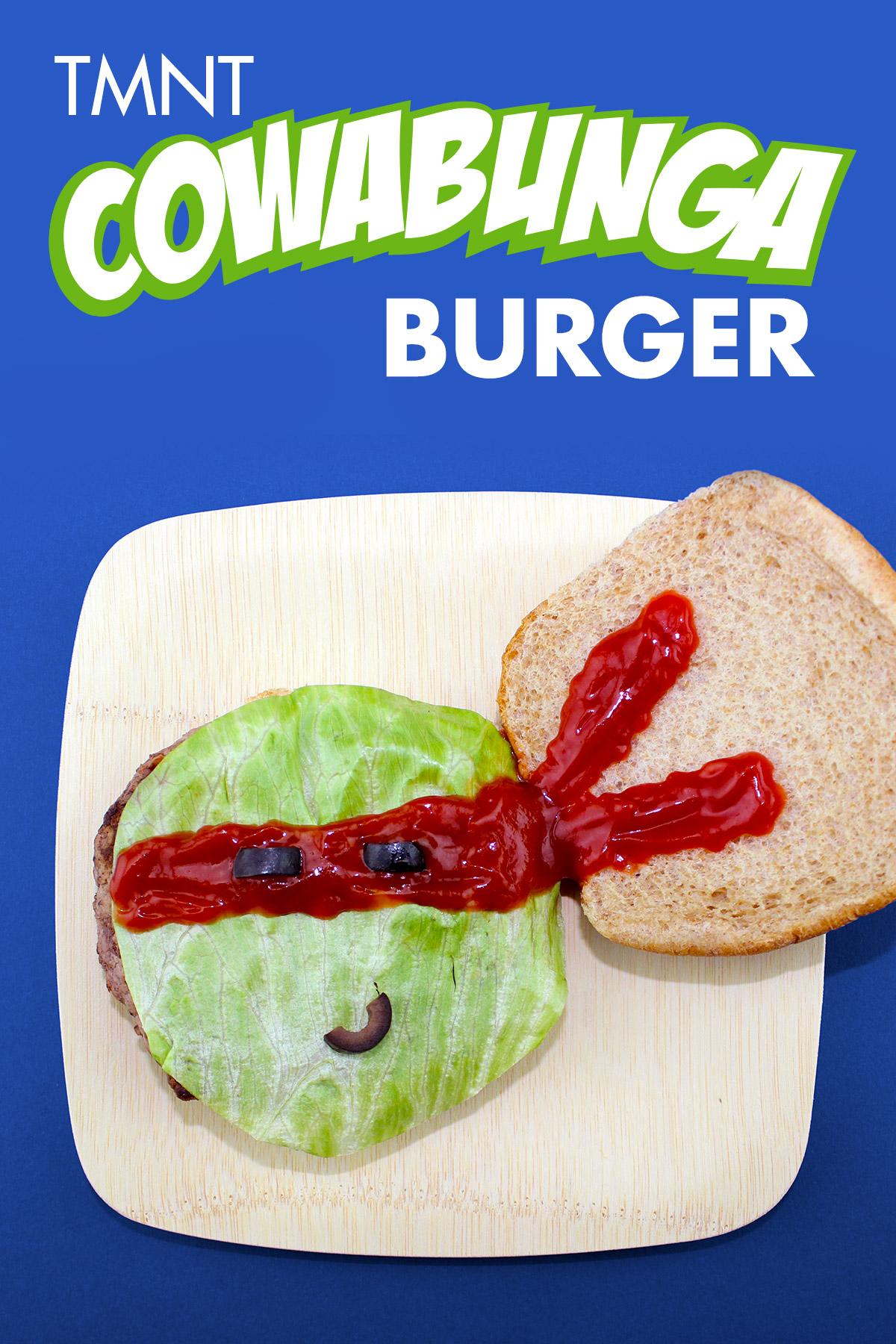 TMNT Cowabunga Burger Recipe