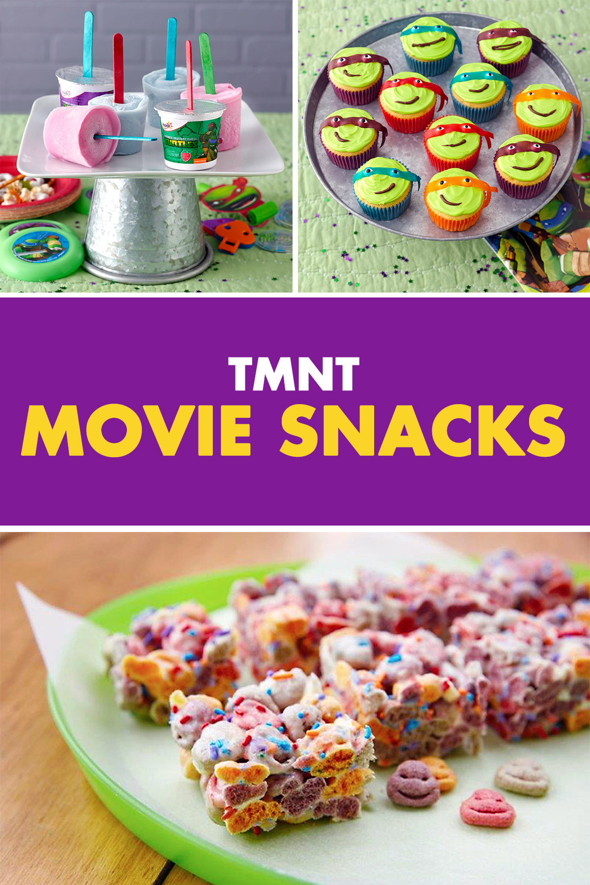 Five Easy-to-Make TMNT Treats