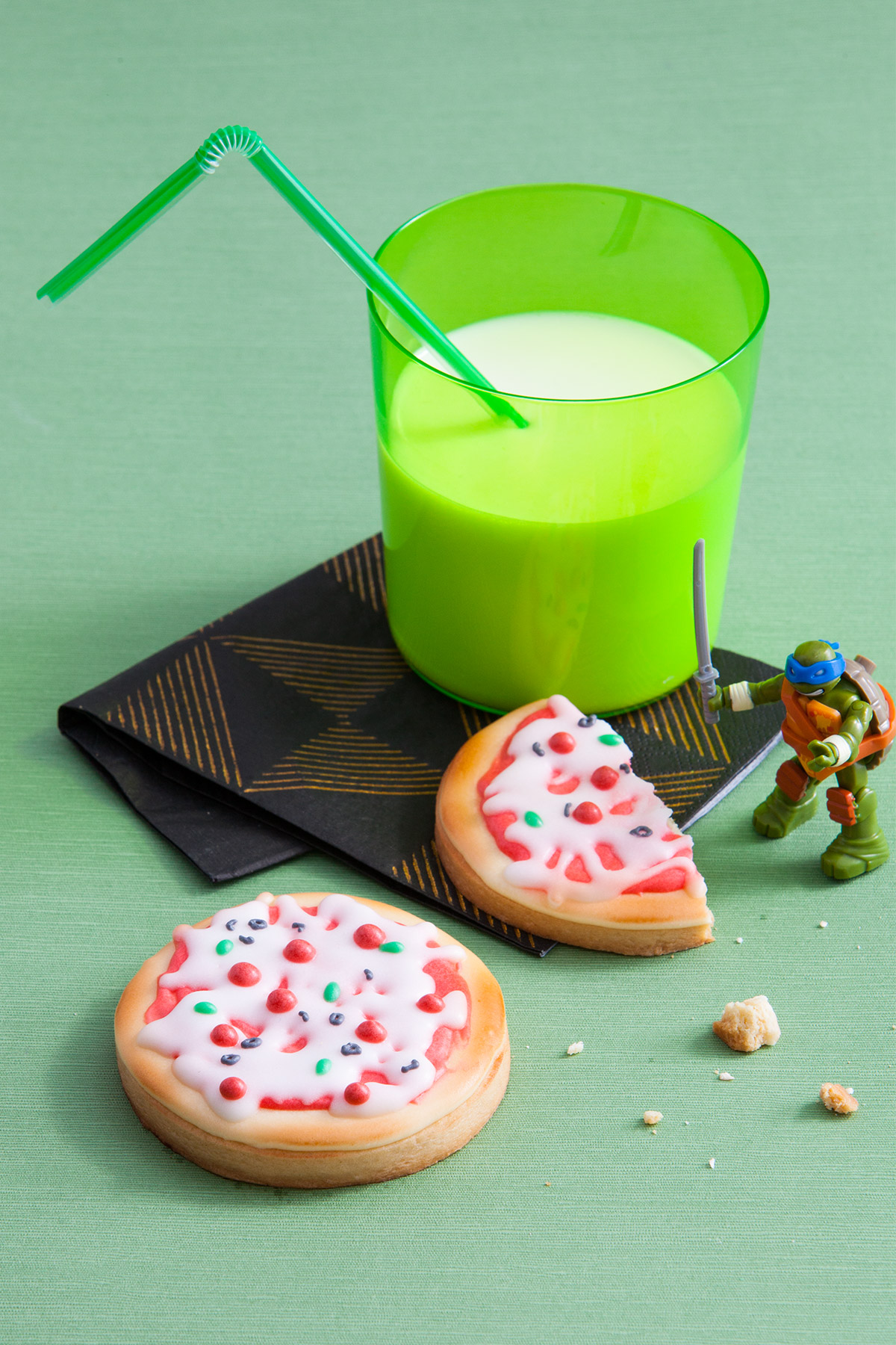 TMNT Pizza Cookies Recipe