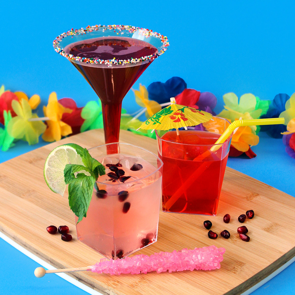Kids Summer Mocktail Recipes