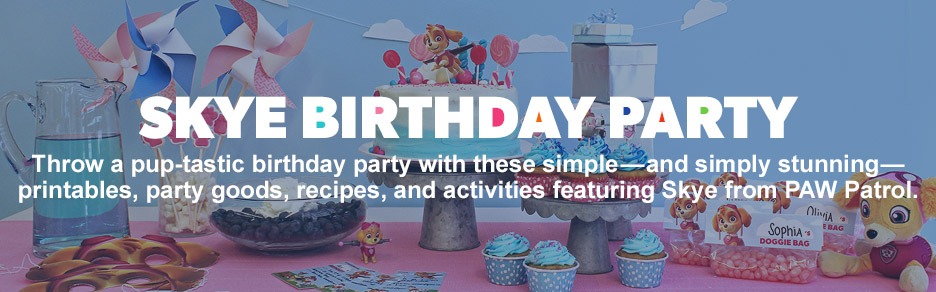 Skye Birthday Party