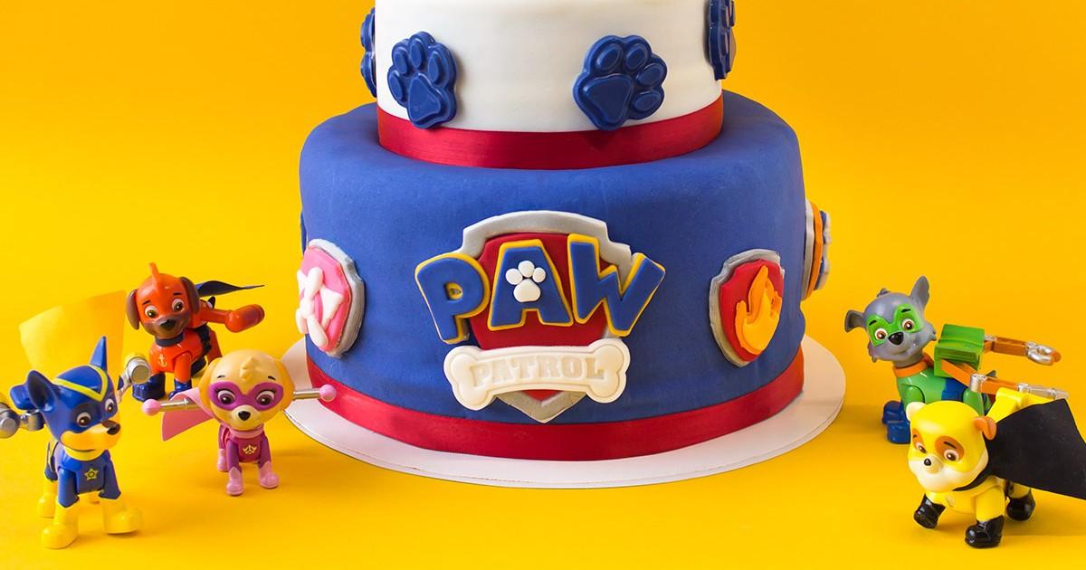 Rusty Rivets Birthday Cake